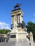 Monumento de Alfonso XII imagens de stock