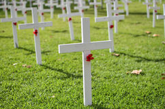 Monumento de Anzac Day Fotos de archivo libres de regalías