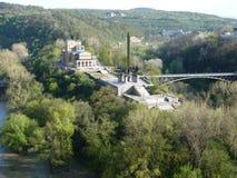 Monumento de Asenevci en Veliko Tarnovo, Bulgaria Foto de archivo