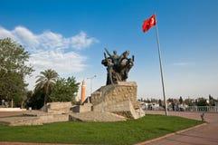 Monumento de Ataturk Imagen de archivo libre de regalías