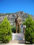 Monumento de Ataturk Fotos de archivo libres de regalías