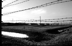 Monumento de Auschwitz Imagenes de archivo