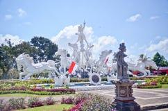 Monumento de Bali, Indonesia de la estatua del círculo Foto de archivo
