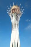 Monumento de Baytetrek em Astana imagens de stock