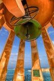 Monumento de Bell del cerco, La Valeta, Malta Imágenes de archivo libres de regalías