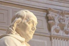 Monumento de Benjamin Franklin Imagen de archivo libre de regalías