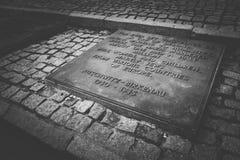 Monumento de Birkenau Foto de archivo libre de regalías