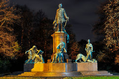 Monumento de Bismarck Fotos de archivo