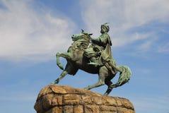 Monumento de Bogdan Khmelnytsky Fotografia de Stock Royalty Free