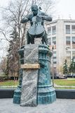 Monumento de bronce a Mstislav Rostropovich Imagenes de archivo