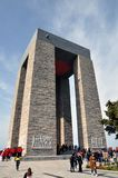 Monumento de Canakkale fotografia de stock royalty free