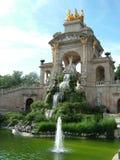 Monumento de Cascada - Parc De Ciutadella Fotografía de archivo