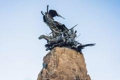 Monumento de Cerro de la Gloria em Mendoza, Argentina fotografia de stock royalty free