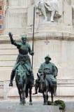 Monumento de Cervantes Fotografía de archivo libre de regalías