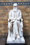 Monumento de Charles Darwin, museo nacional de la historia, Londres Foto de archivo libre de regalías