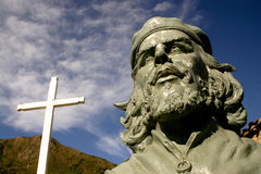 Monumento de Che Guevara fotos de archivo