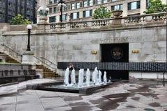 Monumento de Chicago fotos de archivo