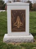 Monumento de Columbia del transbordador espacial Fotografía de archivo