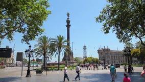 Monumento de Columbus, Barcelona metrajes