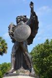 Monumento de Confederacy foto de archivo libre de regalías