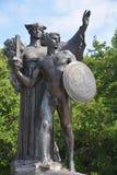 Monumento de Confederacy fotos de archivo