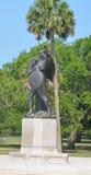 Monumento de Confederacy foto de archivo