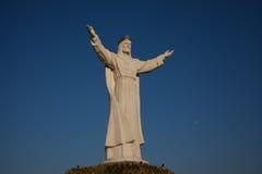 Monumento de Cristo el rey Fotografía de archivo