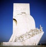 MONUMENTO DE DESCUBRIMIENTOS imágenes de archivo libres de regalías