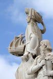 Monumento de descubrimientos Foto de archivo libre de regalías