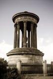 Monumento de Dugald Stewart Fotos de archivo libres de regalías