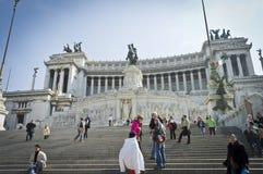 Monumento de Emmanuel do vencedor fotografia de stock royalty free