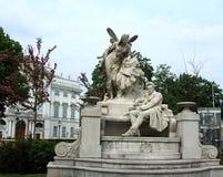 Monumento de Ferdinand Raimund en Viena, Austria fotos de archivo libres de regalías
