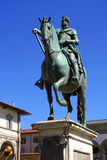 Monumento de Florencia de Ferdinand de Medici imagenes de archivo