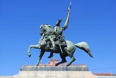 Monumento de general Belgrano Foto de archivo libre de regalías