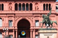 Monumento de general Belgrano Imágenes de archivo libres de regalías