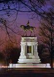 Monumento de general Roberto E. Lee, Richmond, VA Imágenes de archivo libres de regalías