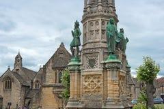 Monumento de George Digby Wingfield Digby, abadía de Sherborne, Dorset, Inglaterra, Reino Unido Foto de archivo