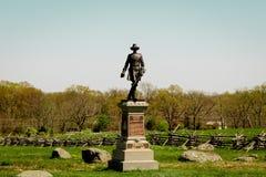 Monumento de Gettysburg fotografía de archivo
