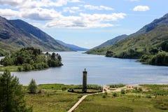 Monumento de Glenfinnan imagens de stock royalty free