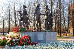 Monumento de guerra Foto de archivo