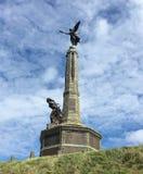 Monumento de guerra Aberystwyth Imágenes de archivo libres de regalías