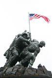Monumento de guerra Arlington Imágenes de archivo libres de regalías