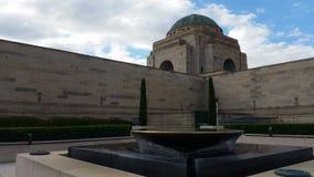 Monumento de guerra australiano - Canberra almacen de video