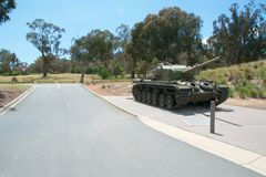Monumento de guerra, Canberra Fotografía de archivo