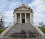 Monumento de guerra civil de Illinois foto de archivo