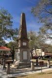 Monumento de guerra confederado 1879 en St Augustine, la Florida foto de archivo libre de regalías