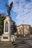 Monumento de guerra de Colchester y castillo de Colchester imagen de archivo libre de regalías