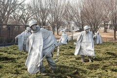 Monumento de Guerra de Corea Foto de archivo libre de regalías