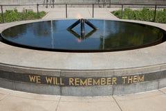 Monumento de guerra del estado - Perth - Australia Foto de archivo