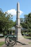 Monumento de guerra en la galena, Illinois Fotos de archivo